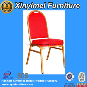 Hot Sale Hotel Furniture Metal Frame Hotel Dining Chair/ Banquet Chair pictures & photos