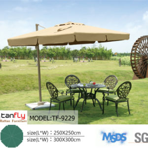Advertising Beach Parasol Outdoor Square Side-Pole Umbrella pictures & photos