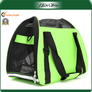 Green Popular Safety Pet Tote Bag with Mesh Window pictures & photos