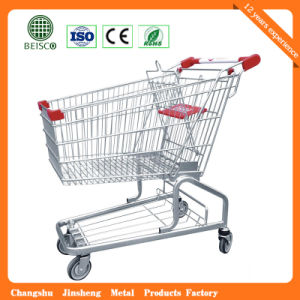 High Quality Four Wheel Shopping Cart pictures & photos