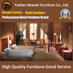 Hotel Furniture/Luxury Double Hotel Bedroom Furniture/Standard Hotel Double Bedroom Suite/Double Hospitality Guest Room Furniture (GLB-0109800) pictures & photos