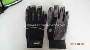Heavy Duty Glove-Work Glove-Safety Glove-PVC Dotted Glove-Labor Glove-Industrial Glove pictures & photos