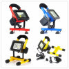 1100lm IP65 15W RGB USB Rechargeable Portable LED Floodlight