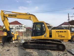 Used Komatsu PC200-6 Excavator, Diggers Used, Used Crawler Excavator 0086-13621636527 pictures & photos