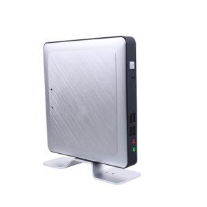 Fanless Quad Core Mini PC with Intel Celeron J1900 Processor (JFTCK662N) pictures & photos