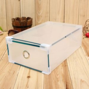 Clear Shoe Box with Drawer/Clear Plastic Boxes pictures & photos
