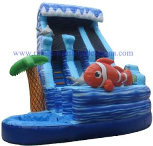 Residential Inflatable Water Slides / Clownfish Inflatable Waterslides pictures & photos