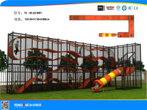 2016 Commercial and Amusement Rope Bridge Outdoor Tunnel Playground with Good Quality pictures & photos