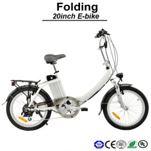 Urban Road Folding E Bicycle Electric Bike (TDN02Z) pictures & photos
