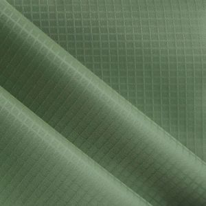 Polyester Grid Twill Oxford Fabric PVC/PU Polyester Twill Fabric pictures & photos