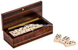 Wood Double Six Domino Set pictures & photos