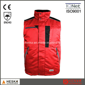 Protective Workwear Winter Bodywarmer Men Padded Waistcoat pictures & photos