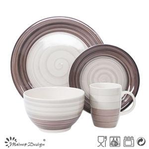 Hot Sale New Design Handpainted Ceramic Dinnerware pictures & photos