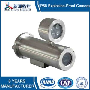 304 Stainless Steel Material Explosion Proof CCTV Camera