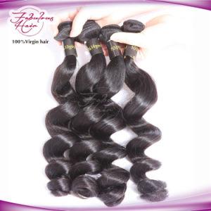 Full Cuticle Wholesale Brazilian Virgin Human Hair Weaving pictures & photos