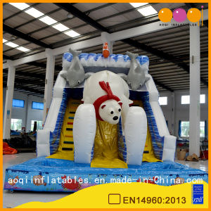 Polar Bear Slide Inflatable Bouncer Slide for Sale (AQ01579) pictures & photos