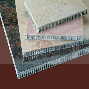 Stone-Like Aluminum Honeycomb Panel for Wall Cladding pictures & photos