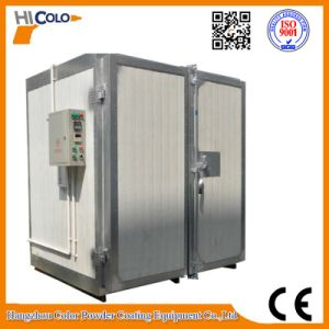 Electrostatic Powder Coating System with Electric Oven and Spraying Machine pictures & photos