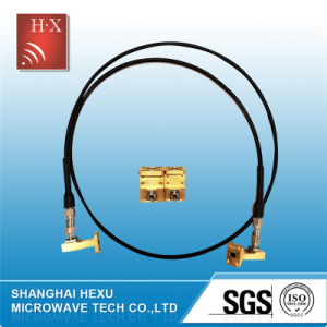Low Loss RF Coaxial Cable Assemblies From Hexu Microwave pictures & photos