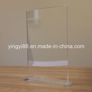 Most Popular A4 Acrylic Poster Menu Holder pictures & photos