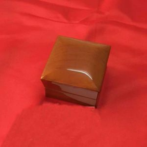 Wooden Ring and Necklace Box with PU and Velvet Insert pictures & photos