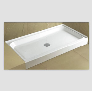 "Cupc North American 60""X30"" Tile Flange Center Drain Shower Base pictures & photos"
