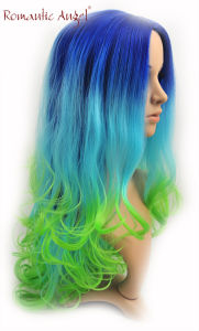 Beautiful Color Long Style of Curly Fashion New Styles of Synthtic Halloween Wigs pictures & photos