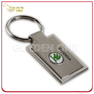 Hot Sale Soft Enamel Logo Two Tone Finished Metal Keychain pictures & photos