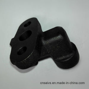 Black Coating Casting and Machining Parts for Oil Pump