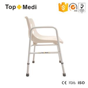 Topmedi Bathroom Safety Equipment Alumium Shower Chair Bath Bench pictures & photos
