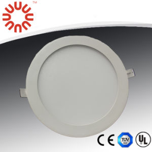 200*12mm LED Round Panel Lighting with UL CE RoHS pictures & photos