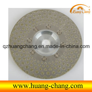 125mm Electroplated Diamond Saw Blade for Cutting and Grinding