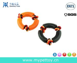 TPR Tyre with Rope Pet Toy Dog Product pictures & photos