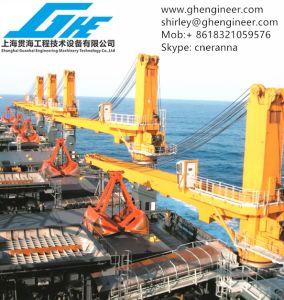 35t 40t Full-Slewing Hydraulic Bulk Cargo Crane CCS pictures & photos