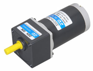 DC gear motor, 60mm 15W, Lead Wiring Type, Round Shaft Type pictures & photos