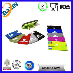 Snap Design Silicone Cell Phone Mobile Phone Stand pictures & photos