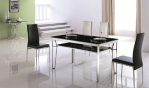 Dining Room Modern Dining Glass Table Set pictures & photos