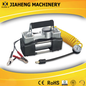 Double Cylinder Mini 12V Air Compressor for Automobile