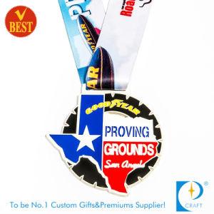 Cheap Custom Zinc Alloy Enamel Souvenir Marathon Medal pictures & photos