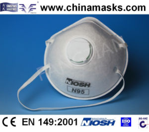 Active Carbon Protective Disposable Dust / Face Mask with Valve pictures & photos