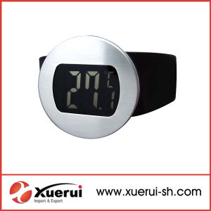Digital LCD display Wine Bottle Thermometer with CE Approved pictures & photos
