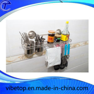 Wall-Mounted Dish Kitchen Rack Hot Sale in Europe pictures & photos