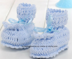 Newborn Baby Slipper Nursery Baby Shoe pictures & photos
