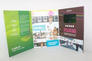 "2016 New Product Hot Selling Paper Material 4.3"" Digital Video Brochure"