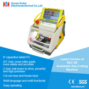 2017 100% Original Automatic Key Cutting Machine Sec-E9 Portable Smart Duplicate Car Key Cutting Machine Sec E9 Multi-Language pictures & photos