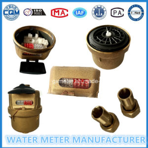Brass Volume Kent Type Water Meter of Dn15-25mm pictures & photos