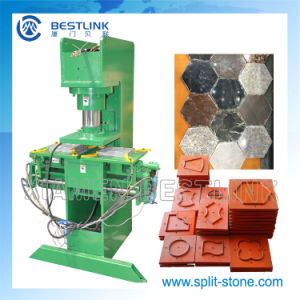 Bestlink Semi-Automati Stone Stamping Machine pictures & photos