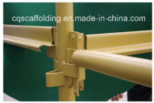 Steel End Toe Board Bracket for Kwikstage Scaffolding with Different Standard (CQG-KS06)