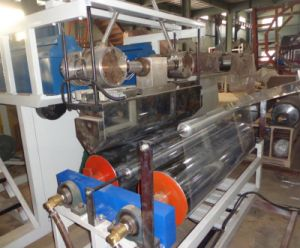 3 Layer LLDPE Stretch Film Extrusion Machine (LYM-1000X3C) pictures & photos