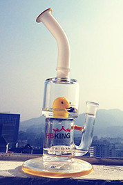 High Quality Colorful Yellow Duck Smoking Pipe pictures & photos